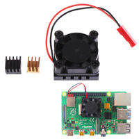 Cooling Fan with Aluminum Heatsink Cooling Pad Cooler Kit For Raspberry Pi 4B Dz