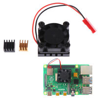 Cooling Fan with Aluminum Heatsink Cooling Pad Cooler Kit For Raspberry Pi 4 Gw