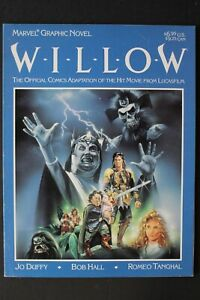 WILLOW Official Comics Adaption Movie 1988 Marvel Graphic Novel TV Reboot FN/VF