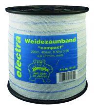 Electra Breitband compact Weidezaunband weiss 40 mm