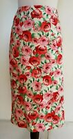 REVIEW Pink Floral Skirt Size 12