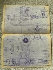 More details for vickers armstrongs walrus ii - general arrangement aircraft plans