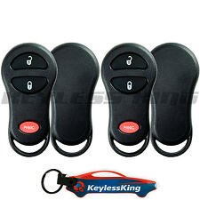 2 Remote Key Fob Shell Pad Case for 2001 2002 2003 2004 2005 Chrysler PT Cruiser