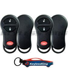 2 Remote Key Fob Shell Pad Case for 2001 2002 2003 2004 2005 Chrysler PT Cruiser