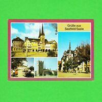 Ansichtskarte DDR Grüße aus Saalfeld/Saale