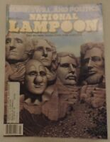 """National Lampoon The Humor Magazine for Adults """"Slime, Swill and Politics"""" Issue"""