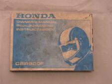 HONDA CBR600 1990 OWNERS MANUAL DEL PROPIETARIO INSTRUCTIEBOEK