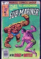 Tales to Astonish Starring the Sub-Mariner #8, July 1980 - Marvel Comics $0.40