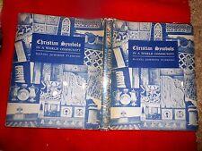 1940 HC/DJ CHRISTIAN SYMBOLS IN WORLD COMMUNITY Daniel Fleming Art Shields Seals