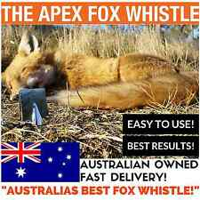Apex Fox Whistle - Australia's Best Fox Whistle - NEW STYLE