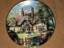 Ginger Cottage by Marty Bell English Country Cottages Plate 1991 Collectible