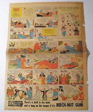 Original Sunday Comics Page May 13, 1934 Classic Collectible Philadelphia Record
