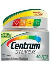 BNEW Centrum Silver Adult (125 Count) Multivitamin Supplement Tablet