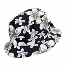 Unisex Packable Adjustable Navy Bush Hat - Great for Holidays & Music Festivals