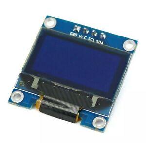 0,96 Zoll Arduino OLED Display SSD1306 BLAU WEIß 128x64 I2C/IIC Modul PI Arduino