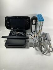 Wii u console With 3 Games And One Controller