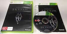 GENUINE MICROSOFT XBOX 360 GAME | THE ELDER SCROLLS V - SKYRIM | COMPLETE