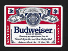 Budweiser beer promo playing card single swap queen of hearts - 1 card