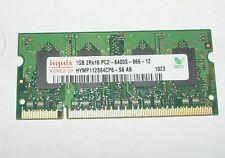 1gb Memory memoria 2r-16 pc2-6400s-666-12 ddr2 800mhz