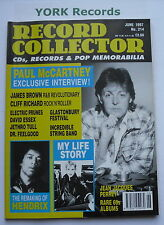 RECORD COLLECTOR MAGAZINE - Issue 214 June 1997 - Paul McCartney / Jimi Hendrix
