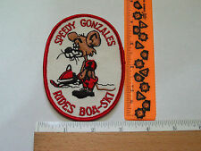 Boa Ski Snowmobile Patch Vintage Speedy Gonzales Patch (#1480) (**) *