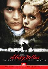 Sleepy Hollow (DVD Region 1) (1999 Johnny Depp) RARE
