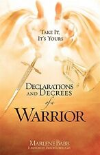 Declarations and Decrees of a Warrior by Babb, Marlene 9781606477502 -Paperback