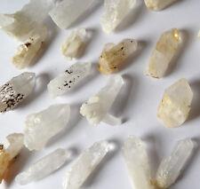 Ghost Quartz Phantom Crystal Point. Milky Snow Quartz Ice Clear White Natural L