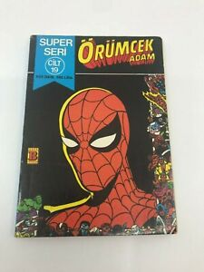 SPIDERMAN #37 - Foreign Comic Book - 1980s 80s - MARVEL - ULTRA RARE - 5.0 VG/FN