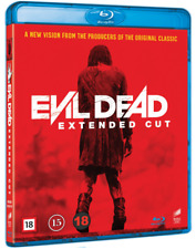 EVIL DEAD EXTENDED CUT UNRATED BLU-RAY BRAND NEW & SEALED REGION FREE UK SELLER