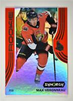 2019-20 Synergy Base Rookie Red w/ Code #47 Max Veronneau - Ottawa Senators