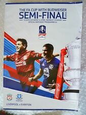 2012 FA Cup Semi FINAL Programme Liverpool v Everton, 14th April