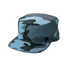 Sky Blue Cap Camouflage Hat Fitted Back Patrol CAP size XL 7 3/4