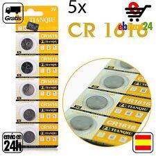 5x CR 1616 PILAS pila de botón baterías 3 V boton bateria CR1616 1616 DL1616 ECR
