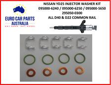 NAVARA YD25DDTI Injector seal washer kit. 13 PIECE KIT
