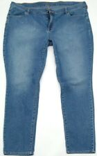 Women's Old Navy Flirt Denim Blue Jeans Size 20 Standard 44x30.5 - FREE SHIP!!