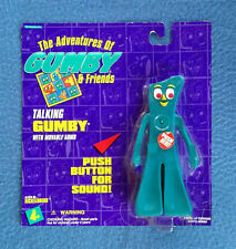 TALKING GUMBY THE INCREDIBLE ADVENTURES OF GUMBY TRENDMASTERS FIGURE 1995