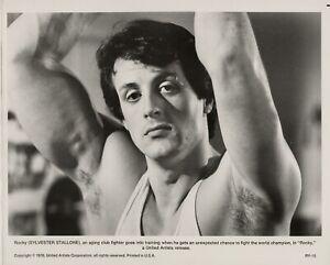 Sylvester Stallone ~ ORIGINAL 1976 scene portrait ~ Rocky