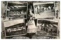 Antique military WW1 RPPC postcard Territorial Camp Ammanford 1909