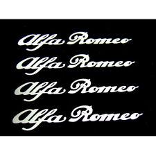 4 Adesivi pinze freni ALFA ROMEO stickers 147 GIULIETTA MITO GIULIA GT BIANCO