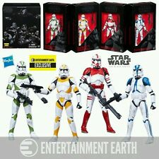 Star Wars The Black Series Clone Troopers of Order 66, 6 Inch Action Figure Set