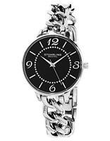 Stuhrling 588.02 588 02 Vogue Analog Silver Chain Quartz Bracelet Womens Watch