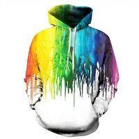 Womens Unisex Hooded Graphic Hoodie Pullover Mens Tops Sweatshirt 3D Print