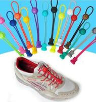 Round Children Adult Old Man Elastic Lock Lace System Sport No Tie Shoelaces New