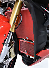 R&G RED RADIATOR GUARD & OIL COOLER GUARD  BMW S1000RR (2013)