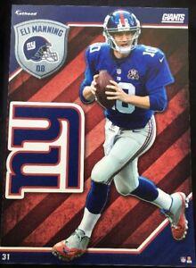 NFL Fathead Tradeables Eli Manning New York Giants 2015