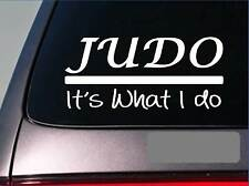 Judo sticker decal *E355* black belt master kickboxing spar karate mma grappling