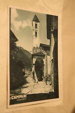 Cartolina Campari Aperitivo Sardegna 1938 Bog35  ^