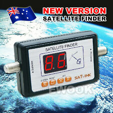 OZ HQ TV Satlink WS 6903 Digital Satellite Signal Finder Meter LCD Display
