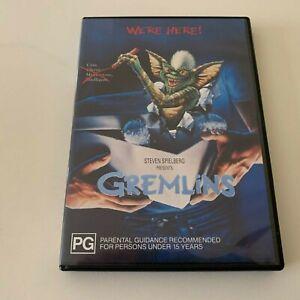 GREMLINS DVD - Cult Classic Movie 1999 PG KIDS Horror - Australian Region 4